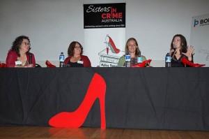Angela Savage, Wendy James, Anna George & Honey Brown