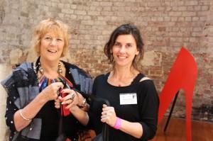 Robin Bowles & Melanie Myers (Raffle Winner)