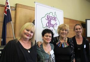 Vikki Petraitis, Julie Szego, Robin Bowles & Kylie Fox