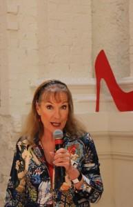 Susanna Lobez launching Gangland Murders