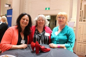 Michelle Somers, Bronwyn Parry & Pauline Johnston