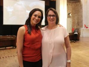 Nicole da Silva & Elizabeth Flann
