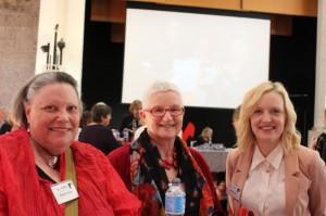 Pat Miller, Anne Holmes & Nerida Cain