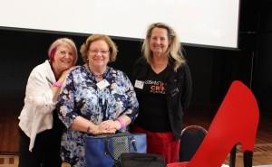 Pauline Meaney, Sandra Nicholson & Robyn Byrne