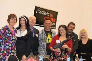 Sue Williams, Leigh Redhead, Robert Gott, Jock Serong, Angela Savage, Andrew Nette & Vikki Petraitis