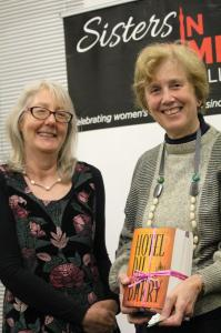 Catherine Moffat & Ruth Webber (raffle winner)