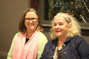 Janice Simpson (r) & friend