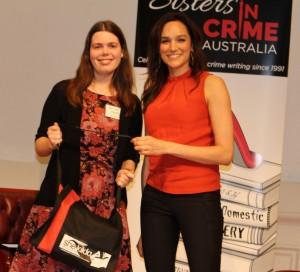 Raffle winner Katie Mills & Nicole da Silva