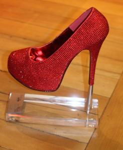 Scarlet Stileeto trophy